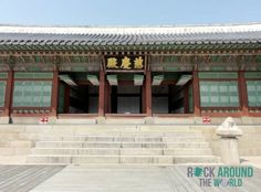 Jagyeongjeon (Residence of Queen Dowager Jo) vom Gyeongbokgung Palace in Seoul, Südkorea