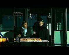 Eric Schmidt arrives in North Korea