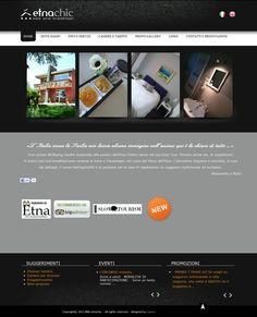 Un altro esempio da prendere a modello per la semplicità e pulizia del design, nonché per la completezza delle informazioni e la cura dei dettagli.  Bella poi l'idea di fotografare le recensioni scritte di pugno da propri clienti, le puoi vedere in fondo a questa pagina: http://www.etnachic.com/it/photogallery.html