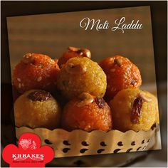 Delicious Moti Laddu made from fine boondi @ KR BAKES since 1969  #KRBakes #KRBakesSince1969 #BakedWithLove #Laddu