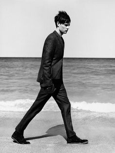 Suit at the beach