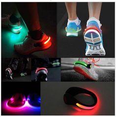 HOT ITEM !!! 2Pcs Luminous Shoe Clips - Night Safety LED - FREE ITEM