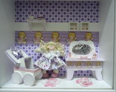 Mini Vitrine quarto Maternidade