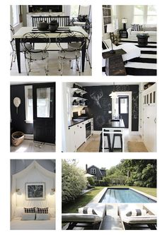 Black and White Cottage