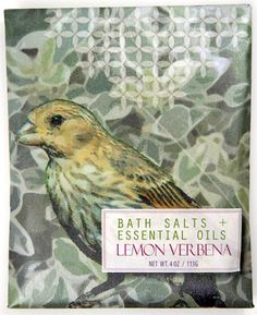 Lemon verbena bath salts!