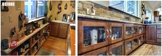 Before & after home bar remodel by Medford Remodeling!  #medfordremodeling #kitchenremodel #homeremodeling #openconcept #beforeandafter Photography by www.impressia.net