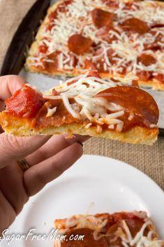 Grain Free Pizza | Low Carb | Vegetarian | Gluten Free | Nut Free