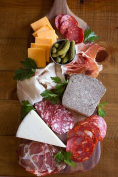 Cheese board selection example 4