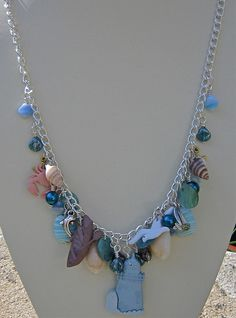 Beach Holidays Charm Necklace by Goddess-Jewels, via Flickr
