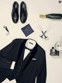 """Gentlemen's guide """"What to Wear"""" - Wedding edition, Jack & Jones 2013"""