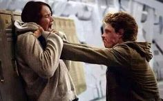 """Other pinner said-""""New still from mockingjay. No no no no no"""" BUT I feel like it is fake. Tho this is totally where part 1 will end."""