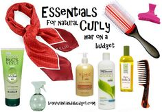Curly Hair Essentials. Pin Now, Read (and thank me) later...