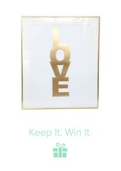 Have you entered? 7 Prizes. 7 Winners. On Keep! Cute way to decorate your room <3