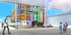 Ecuador Pavilion At Expo Milano 2015 - Picture gallery
