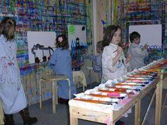 Malen macht das Leben bunter - Malfreude Bunt, Palette, Painting, Joy, Palette Table, Painting Art, Paintings, Paint, Draw