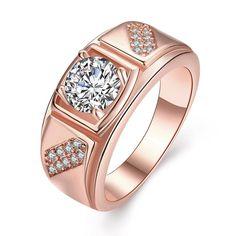 Plated Split Shank Promise Ring, Women's