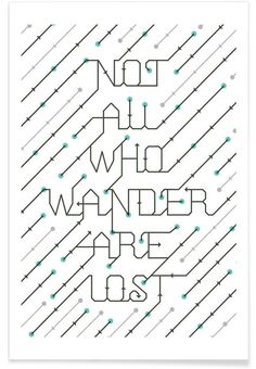 Not All Who Wander of 55Hi's now on JUNIQE!