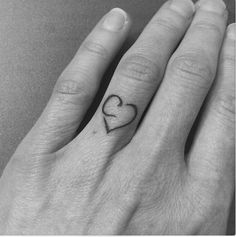 Pin for Later: Tiny Wedding Tattoo Ideas Every Inked Bride Should Consider Infinity Finger Tattoos, C Tattoo, Wedding Finger, Wedding Tattoos, Tattoo Inspiration, Tattoo Ideas, Initials, Ink, Beauty Secrets