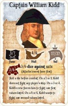 William Kidd | Captain William Kidd - Legendary Pirate
