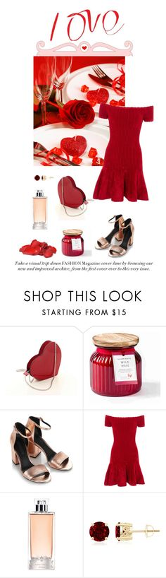 """Day Of Love♥"" by nicolesynth ❤ liked on Polyvore featuring Wild Rose, Alexander Wang, Rails, Guerlain, love and valentinesday"