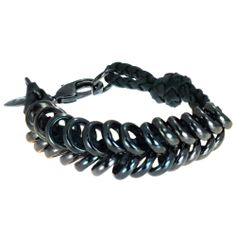 Giles & Brother - Braided Ring Bracelet