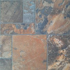 FLOORS 2000�11-Pack 13-in x 13-in Sunset Red Glazed Porcelain Floor Tile, for the porch floor