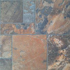FLOORS 2000 11-Pack Sunset Red Glazed Porcelain Indoor/Outdoor Floor Tile (Common: 13-in x 13-in; Actual: 13.38-in x 13.38-in)
