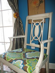 Cute Reupholstered Chair