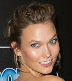Karlie Kloss' Effortless Updo Is Perfect for New Year's Eve