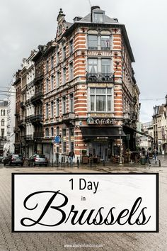 1 day in Brussels is a good amount of time to take in the highlights, revisit some favorite spots, and try a couple of new restaurants.