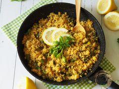 Spárgás-répás quinoa Paella, Ethnic Recipes, Food, Essen, Meals, Yemek, Eten