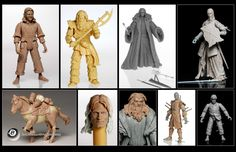 Lord of the Rings action figures (never made)