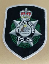 AUSTRALIAN FEDERAL POLICE SHOULDER PATCH
