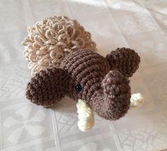 Crochetbyme — Manni Mammut, nur echt mit den Goldlocken. Manni...