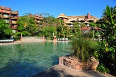 Check out the pools at Kidani Village and Jambo House at Disney's Animal Kingdom Lodge.