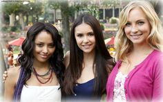 Kat Graham, Nina Dobrev, Candice Accola | Posted: April 20, 2013