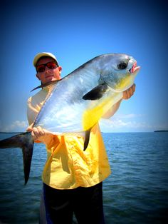 Lower Fl. Keys, worlds best place to catch a trophy permit on the flats! photo by Earle Waters