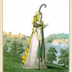 MORNING DRESS, September 1794 from Gallery of Fashion volume 1