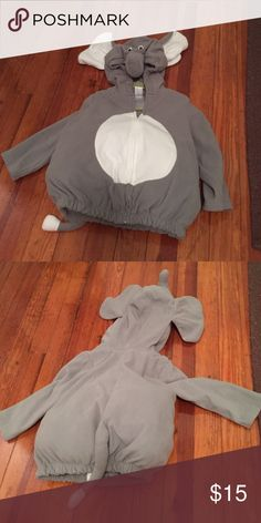 Carter's 24M elephant costume Carters elephant costume in 24M. Missing the pants. Excellent condition. Carter's Costumes Halloween