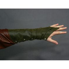 Dark Elf Bracer - Faux Suede