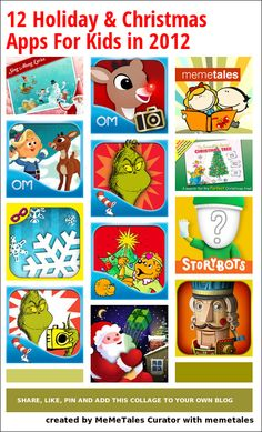 12 Holiday & Christmas Apps For Kids in 2012