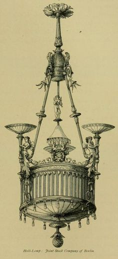 Hall Light by the Joint Stock Company of Berlin 1876
