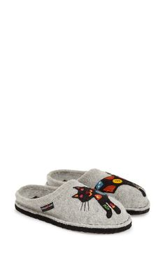 Haflinger 'Cat' Slipper (Women) available at #Nordstrom