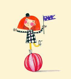 Adorable!   Alex T. Smith: Circus Girls