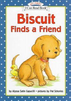 Biscuit Finds a Friend by Alyssa Satin Capucilli.