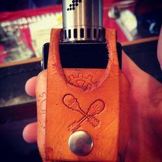 a regulated box mod vape holster