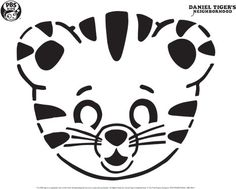 PBS Kids Pumpkin Carving Templates: Dr, Seuss, Daniel Tiger,Wild Kratts and Printable Pumpkin Stencils, Pumpkin Template, Pumpkin Carving Templates, Fröhliches Halloween, Holidays Halloween, Halloween Pumpkins, Halloween Costumes, Daniel Tiger Party, Daniel Tiger Cake