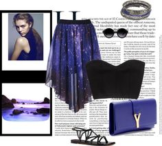 """Space"" by chiaradepari ❤ liked on Polyvore"