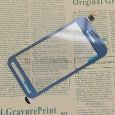 For Samsung Galaxy Xcover 3 G388F G388 Touch Screen Digitizer Glass Parts Replace Panel Blue