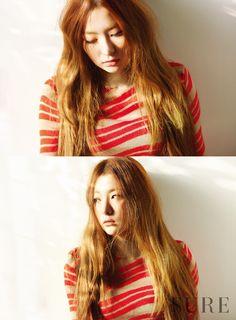 Red Velvet Seul Gi - Sure Magazine January Issue Red Velvet Seulgi, Red Velvet Irene, Girl Day, My Girl, South Korean Girls, Korean Girl Groups, Kang Seulgi, Kim Yerim, Korea Fashion